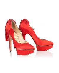 Charlotte Olympia | Black Tall Harness Boots  | Lyst