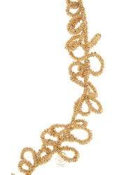Elie Saab | Metallic Gold Long Loop Necklace | Lyst