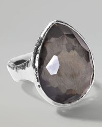 Ippolita - Metallic Pyrite Teardrop Ring - Lyst