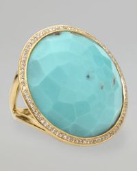 Ippolita | Blue Turquoise Lollipop Ring | Lyst