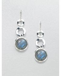 Ippolita - Metallic Labradorite Sterling Silver Link Earrings - Lyst