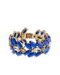J.Crew | Blue Marquess Fleur Bracelet | Lyst