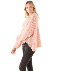 Mes Demoiselles | Pink Russel Pom Pom Sweater | Lyst