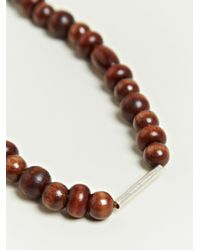 Damir Doma - Brown Damir Doma Mens Atki Beaded Necklace for Men - Lyst