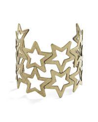ModCloth   Metallic Starbangled Glamour Bracelet   Lyst
