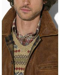 Polo Ralph Lauren | Brown Morrow Skeet Leather Bomber Jacket for Men | Lyst