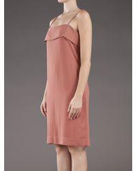 The Row - Pink Suna Dress - Lyst