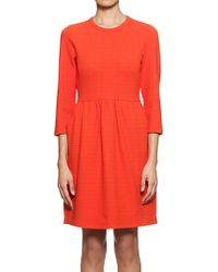 Whistles - Whistles Camille Jersey Dress Red - Lyst