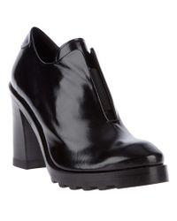 Acne | Black Marlin Shoe Boot | Lyst