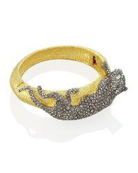 Alexis Bittar | Metallic Panther Bracelet | Lyst