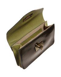 Chloé | Brown Patent Sally Envelope Clutch | Lyst