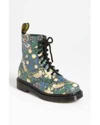 Dr. Martens | Blue Liberty London Boot | Lyst