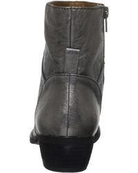 Nine West | Gray Nine West Womens Bogie Ankle Boot | Lyst