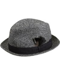 Paul Smith - Black Tweed Trilby Hat for Men - Lyst