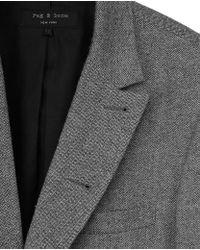 Rag & Bone   Gray Parker Blazer for Men   Lyst