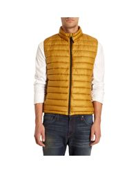 Stone Island - Metallic Quilted Vest for Men - Lyst