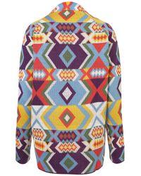 TOPSHOP | Multicolor Knitted Bracelet Cardi | Lyst