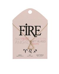 TOPSHOP - Metallic Fire Triangle Ditsy Necklace - Lyst