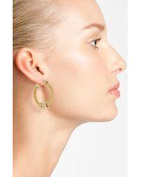 Anne Klein | Metallic Tassel Drop Earrings | Lyst