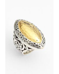 Lois Hill | Metallic Marquise Statement Ring | Lyst