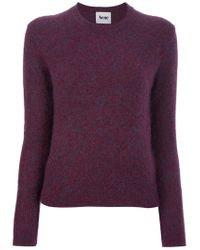Acne | Red Lia Sweater | Lyst