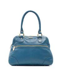 Ollie & Nic - Blue Caz Zip Shoulder Handbag - Lyst