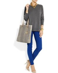 Levi's | Blue Empire Mid-Rise Skinny Jeans | Lyst