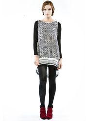 Rebecca Minkoff | Black Leah Dress | Lyst