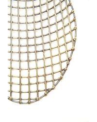 Anndra Neen | Metallic Cage Bib Necklace | Lyst