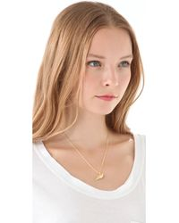 Elizabeth and James | Yellow Diamond Meadowlark Bird Necklace | Lyst