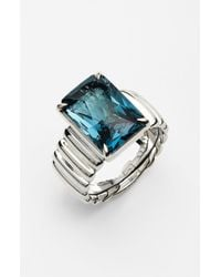 John Hardy | Metallic Bedeg Wide Ring | Lyst