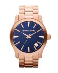 Michael Kors | Gold Mens Classic Watch for Men | Lyst