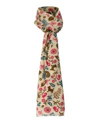 Radley | Natural Melody Floral Woven Scarf | Lyst