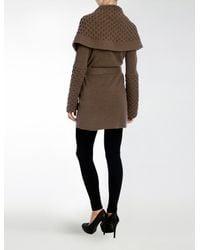 Temperley London - Brown Honeycomb Jacket - Lyst