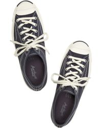 Converse | Blue Jack Purcell Helen Canvas Sneakers | Lyst