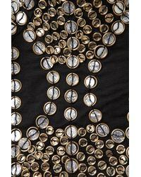 TOPSHOP - Black Coin Stud Bralet - Lyst