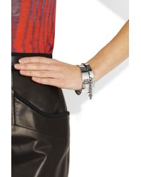 Marc By Marc Jacobs | Metallic Collars and Cuffs Silver-Tone Bracelets | Lyst