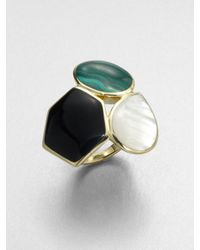Ippolita | Metallic Semiprecious Multistone 18k Gold Ring | Lyst