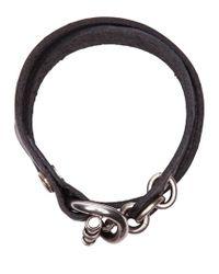 Werkstatt:münchen - Black Werkstatt:münchen Toggle Bracelet - Lyst