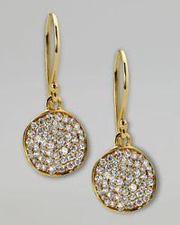 Ippolita - Metallic Stardust Diamond Drop Earrings - Lyst