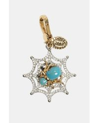 Juicy Couture | Multicolor Glow in The Dark Spider Web Charm | Lyst