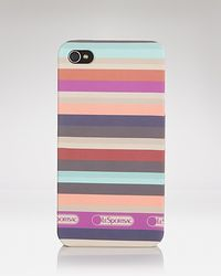 LeSportsac | Multicolor Iphone Case Campus Stripe | Lyst