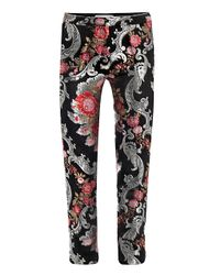 OSMAN | Floral Brocade Trousers | Lyst