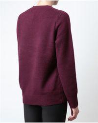 Acne Studios - Purple Filippa Cashmere Sweater - Lyst