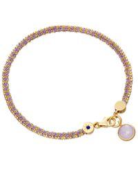 Astley Clarke - Purple Modern Love Bracelet With Amethyst - Lyst
