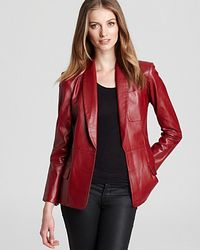 Sachin & Babi | Red Blazer Heidi Leather | Lyst