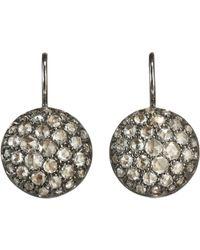 Roberto Marroni - Metallic Rose Cut Diamond Baby Sand Earrings - Lyst