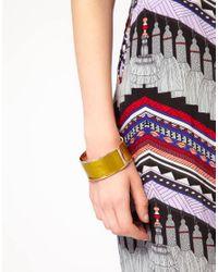 Love Moschino - Yellow Large Colour Block Bracelet - Lyst