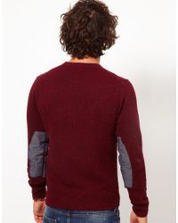 Paul Smith - Red Gradient Sweater for Men - Lyst