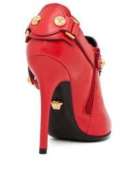 Versace | Harness Bootie in Red | Lyst